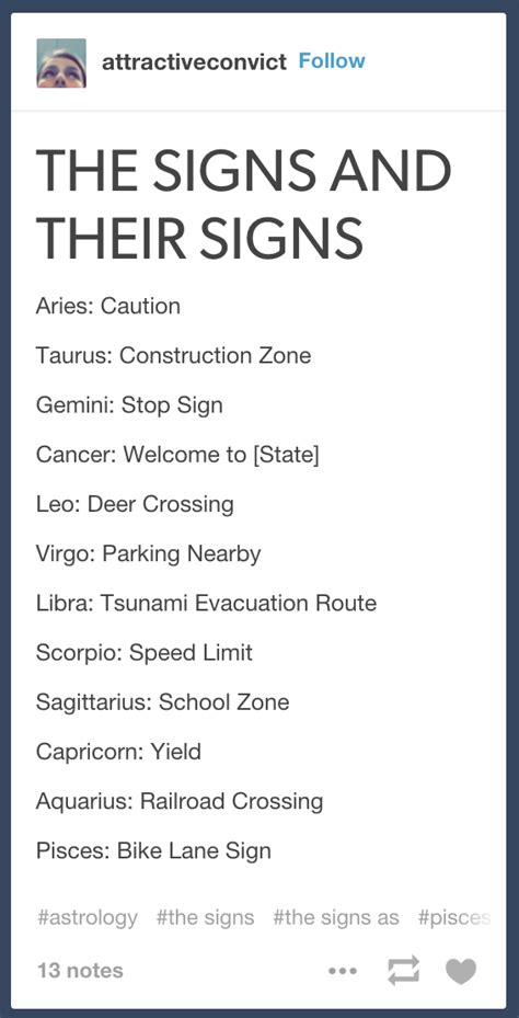 Zodiac Sign Memes - horoscope symptoms memes sense of numerology