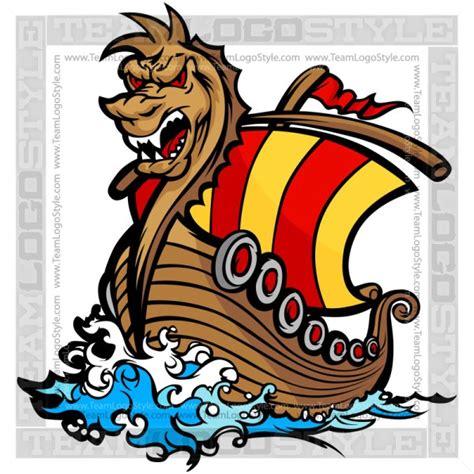 viking boats cartoon viking ship clipart vector clipart norseman ship