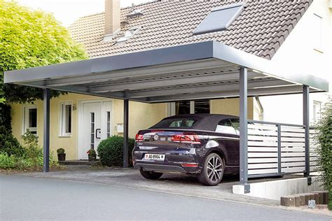 carport aus metall carports metall uninorm technic ag