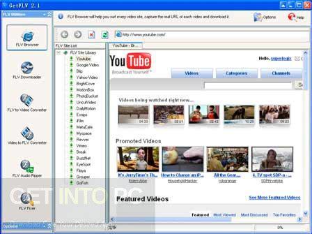 getflv full version software getflv pro free download