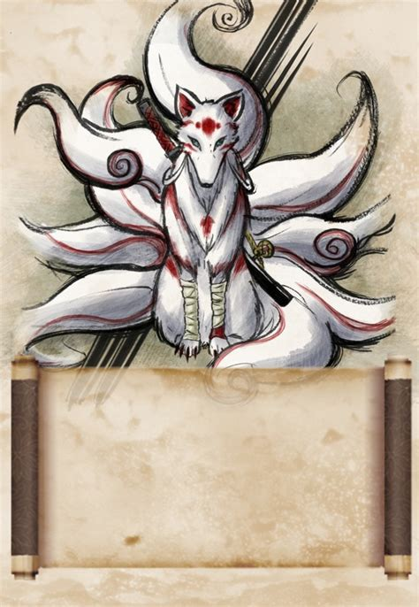 kitsune art rachel neumeier