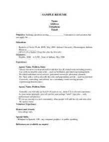 Best Resume Template For Job by First Job Resume Template Best Business Template
