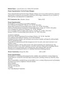 Building Superintendent by Free Resume For Construction Supervisor