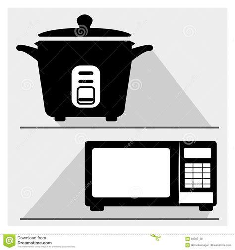 appareil de cuisine appareil de cuisine illustration de vecteur image 60767168