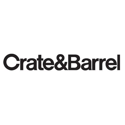 crate barrel furniture company logos