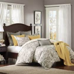 King Size Grey Comforter Set by Grey King Size Bedding Ideas Homesfeed