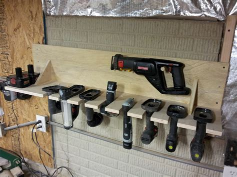 Ipad Holder For Bed chad s workshop cordless tool rack