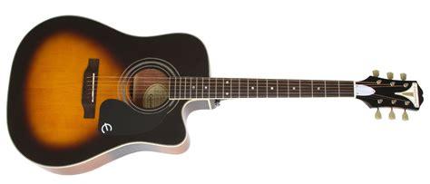 Diskon Pickguar Gitar Akustik E epiphone pro 1 ultra eepuvsch1 vintage sunburst elektro akustik gitar
