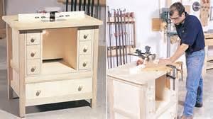 Garage Workshop Plans une table 224 toupie pour l atelier r 233 novation bricolage