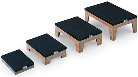 Physical Therapy Step Stool by Differing Height Nested Footstools With Non Slip Top