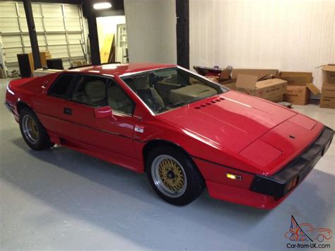how cars run 1987 lotus esprit interior lighting 1987 lotus esprit turbo hci 29000miles great running condition totally gone over