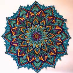 colored mandala best 25 mandalas a color ideas on