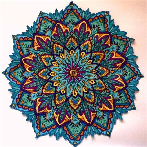 how to color mandalas best 25 mandalas a color ideas on