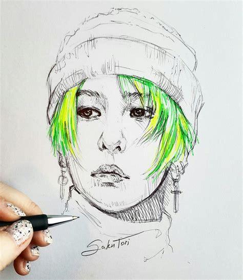 G Sketches by G By Sakutori Bigbang Kpop My Kpop Fanart