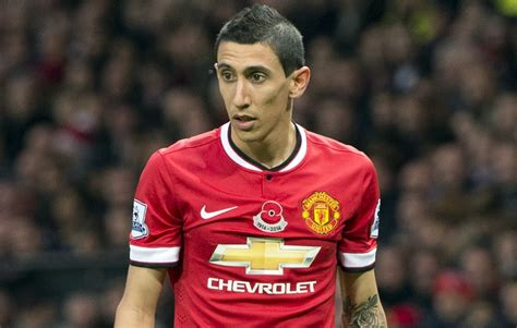 angel di maria angel di maria happy at manchester united insists wife