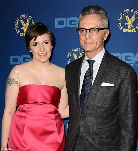 lena dunham father lena dunham s dad taught her to use a ton daily mail