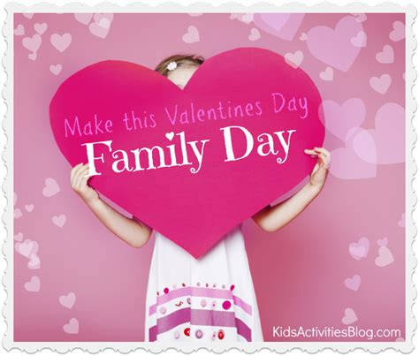 Family Valentines Day Ideas | 10 ideas to make valentines a family day