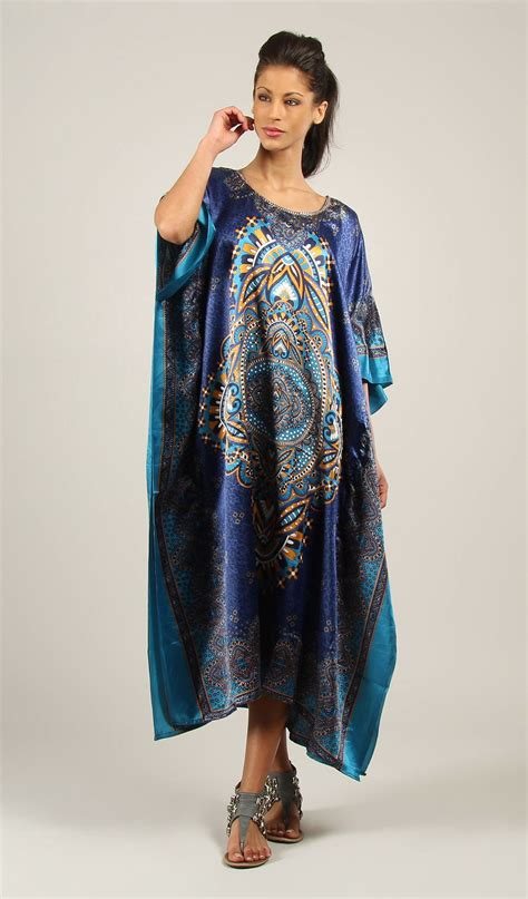 new kushi plus size maxi tribal ethnic tunic evening