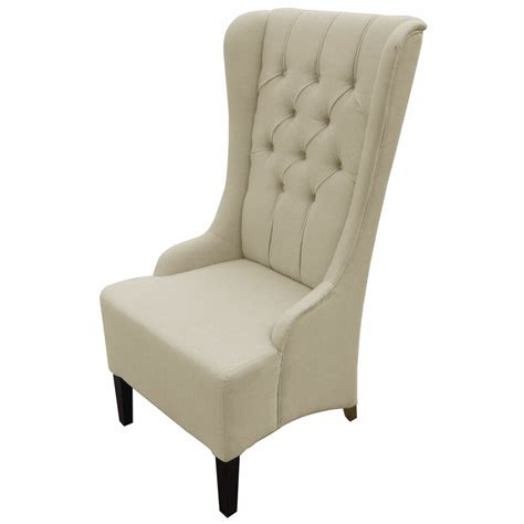 vincent beige linen modern accent chair seat accent decor furniture home cushion ebay
