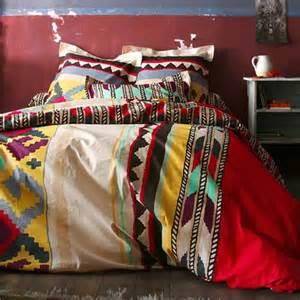 aztec bedding west guest rooms