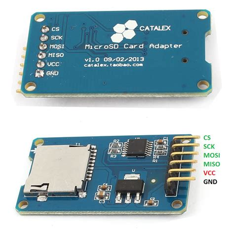 with sd card arduino micro sd card data logger