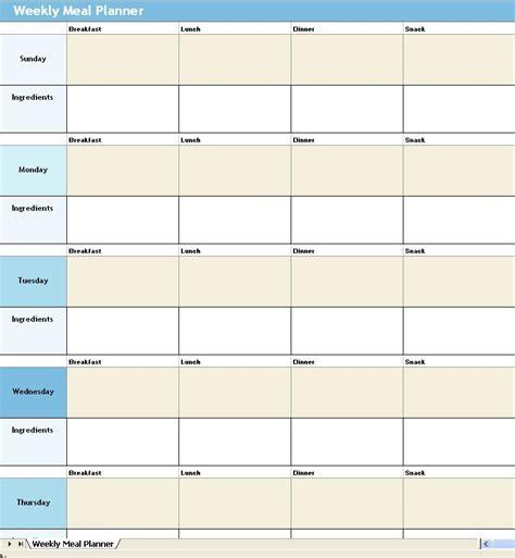 weekly diet template meal planner template cyberuse