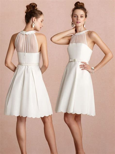 halter top beach wedding dresses – Unique Halter Top High Low Skirt Beach Bridal Dress