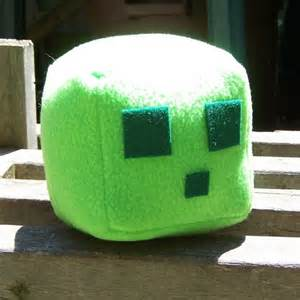 minecraft hipo slime plush by closetmonsterstoys on etsy