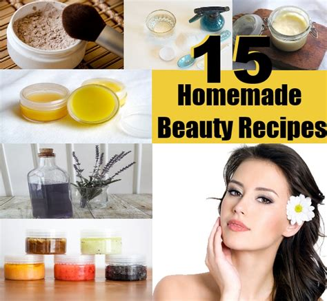 Handmade Cosmetics Recipes - top 15 recipes diy home things