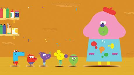 the color badge hey duggee the colour badge abc iview