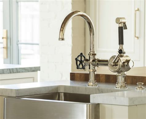 changing kitchen sink faucet how to replace farmhouse faucet kitchen the homy design