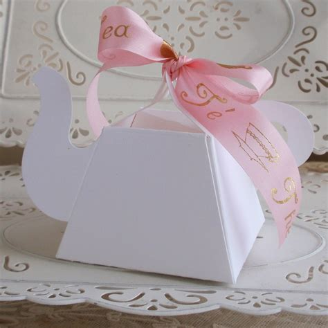 Tea Party Giveaways - all tea party favors you need baby shower favor boxes