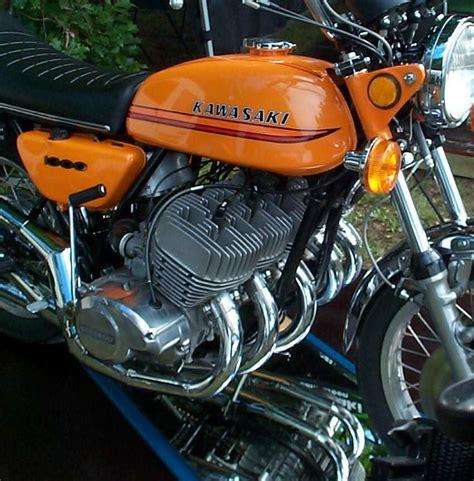 Kawasaki 2 Zylinder Motorrad by 5 Cylinder 2 Stroke Kawasaki By Allan Millyard 2