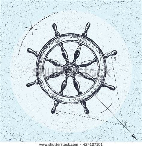 boat steering wheel tattoo 25 trending ship wheel ideas on anchor
