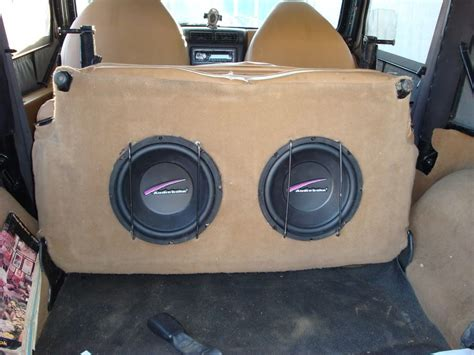 box jeep jeep wrangler subwoofer box plans search team