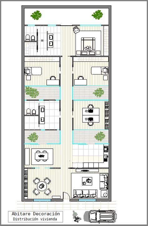 plantas para patio planos de casa con patio