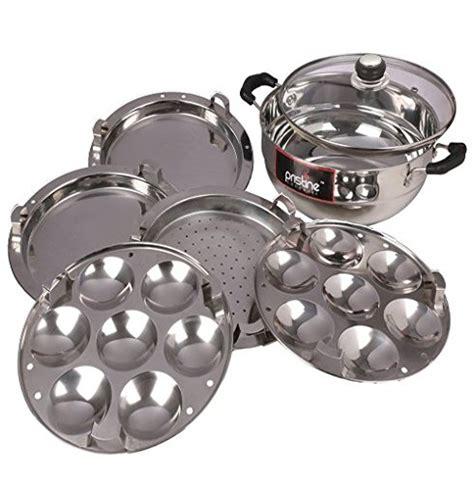 kitchen essentials induction idli steamer kadai royal 2 idli plates buy kitchen essentials induction idly steamer kadai royal 2 idli plates on