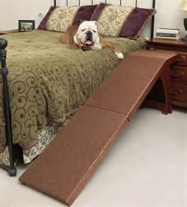 bedside dog bed new bedside pet r 25 inch bed stair access portable step cat dog climbing fun ebay