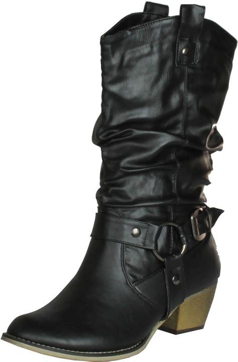 refresh 02 western style cowboy boots ebay