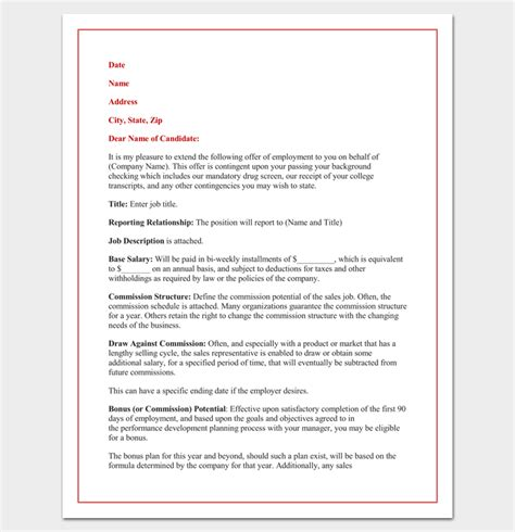appointment letter subject appointment letter 22 sles in word doc pdf format