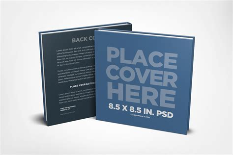 a s book square children s book mockup template covervault