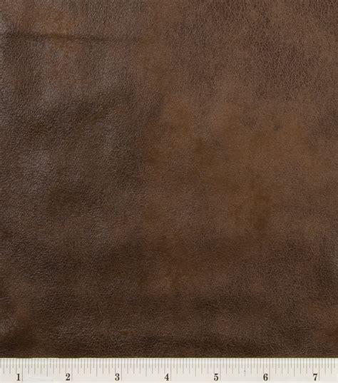 Upholstery Leather Fabric By The Yard Microsuede Fabric Brown Distressed Jo Ann