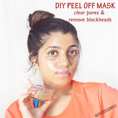 Lyolan Spot Removing Whitening Milk Pore Cleanser Cleansing diy peel mask to clean pores and remove blackheads theindianspot