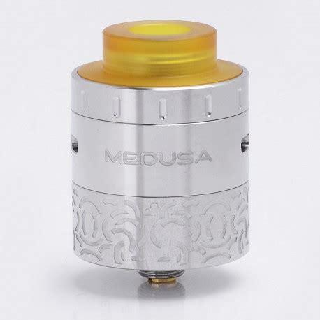 Rdta Medusa By Geekvape Murah Authentic authentic geekvape medusa rdta silver 25mm rebuildable atomizer