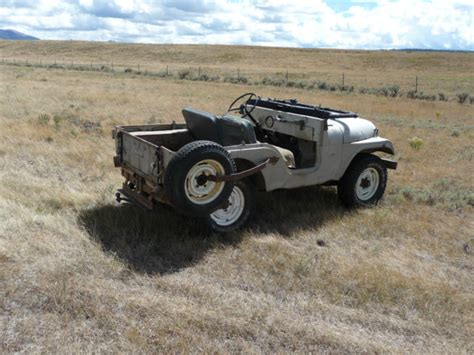 1964 Willys Jeep 1964 Willys Jeep Cj 5 One Owner Barn Find