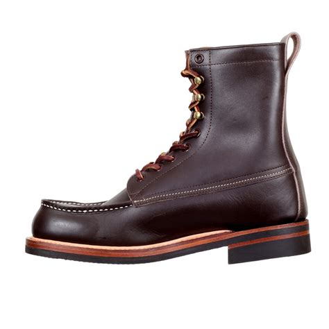 mens paw boots lone wolf wood cutter boots in brown with cats paw sole