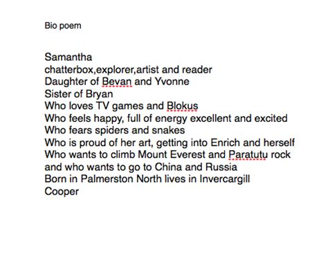 biography poem bio poem template out of darkness