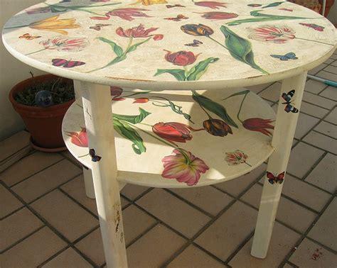 Decoupage Tables - best 25 decoupage coffee table ideas on diy