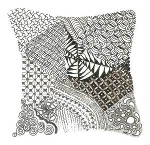 zentangle design zentangle carol ottaway