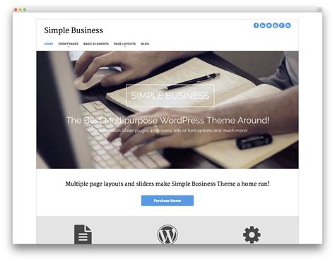 bootstrap themes slider 20 best free bootstrap wordpress themes idevie